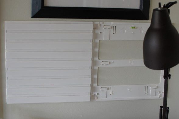 Martha Stewart product review - wall manager