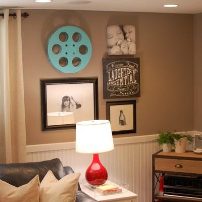 Basement Decorating Ideas {Some Room Edits!}