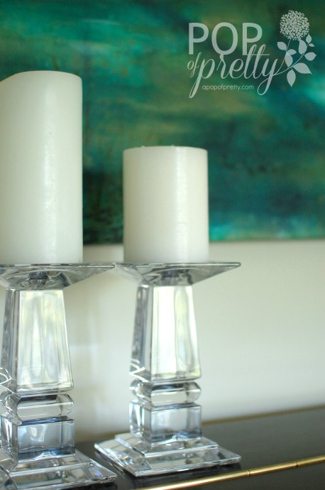 glass accessories for piano room