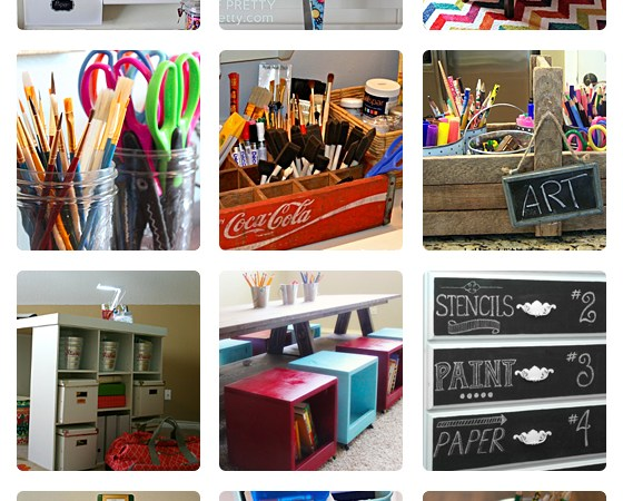 Kids' Art Station Inspiration: 20 Fun Ideas
