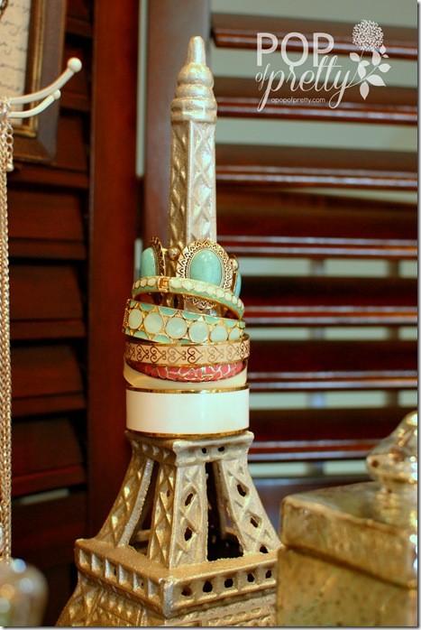 how to organize jewellery - Eiffel tower