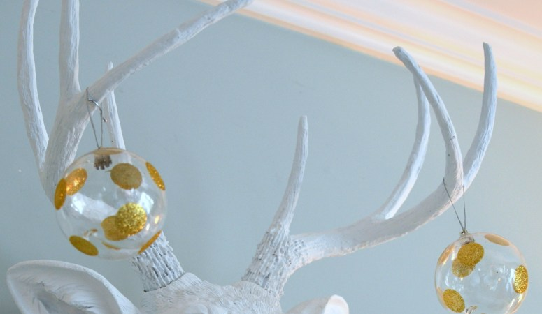 Oh deer, I think I love you. {Faux Taxidermy – Near & Deer}