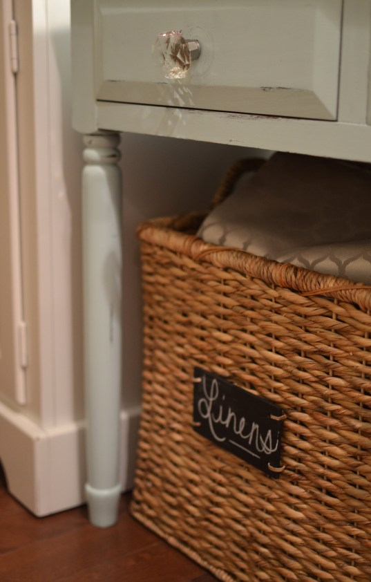 kitchen storage tips - baskets