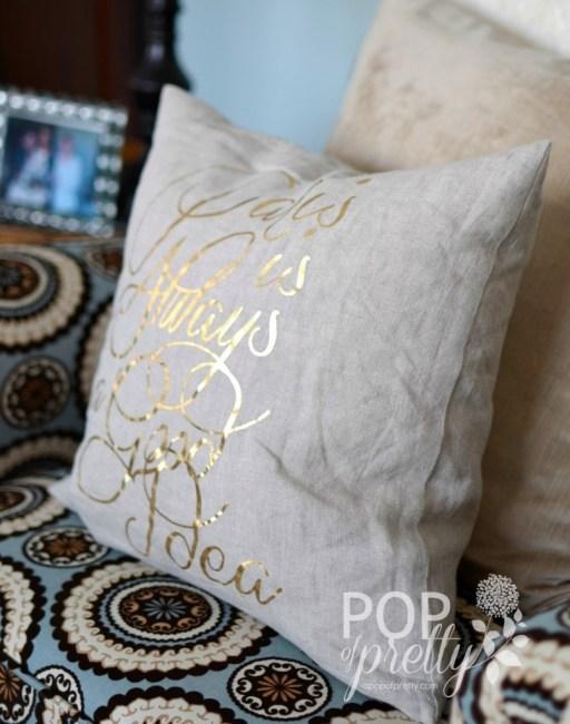 home accessories - pillow Paris is Always a Good Idea