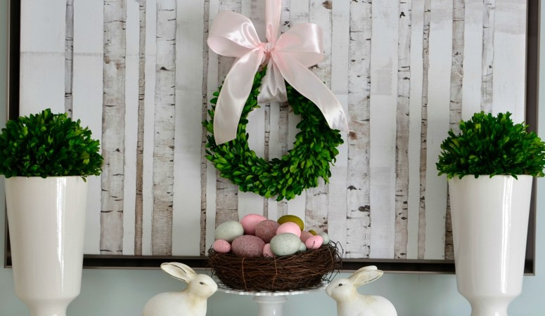 Easter Decorating: Simple & Pretty