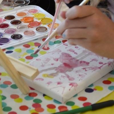 Birthday Ideas: Fun 'Art Theme' Party for Girls