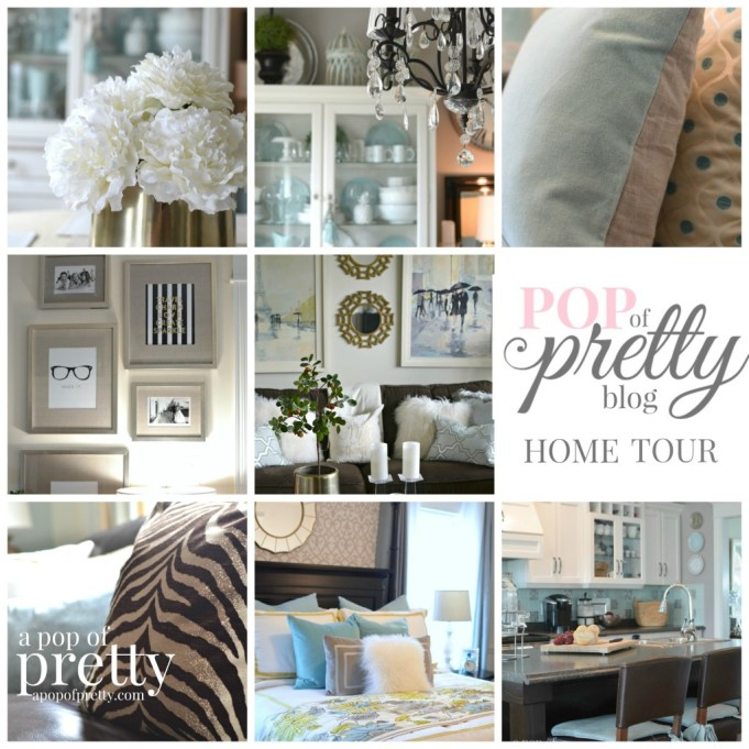39 canadian bloggers home tour 39 our house a pop of for Decorating blogs canada