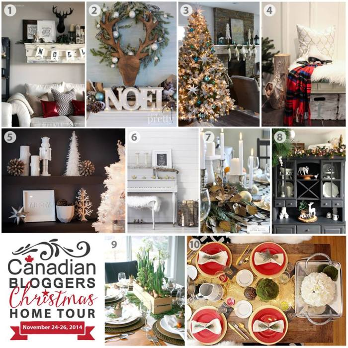 Home Decor Inspiration On Instagram How S The Christmas: French Inspired Christmas Decor (Black, White & Peacock