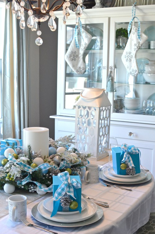Canadian Tire Canvas Launch - holiday table