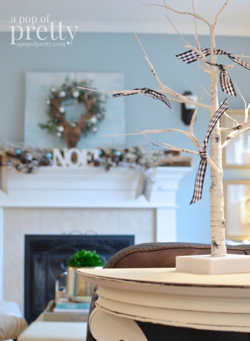 French inspired Christmas decor 14