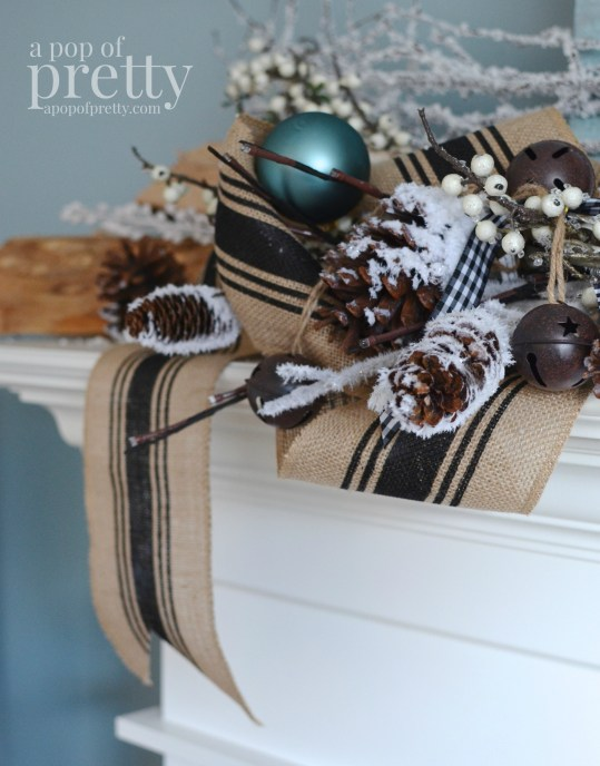 French inspired Christmas decor 24