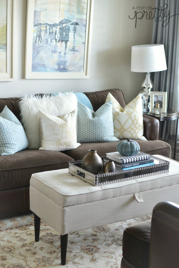 Canadian Bloggers Home Tours - Fall Decorating