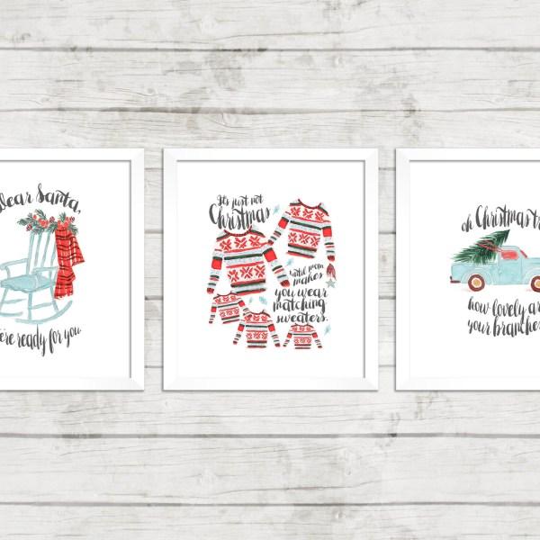 2015 Christmas printable