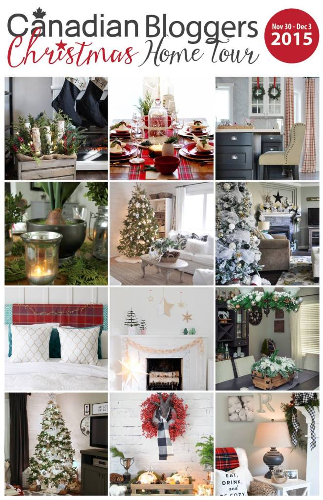 Canadian Christmas Collage