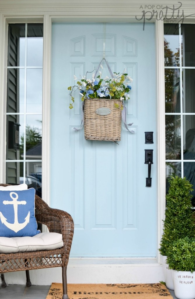 summer decorating ideas - front porch