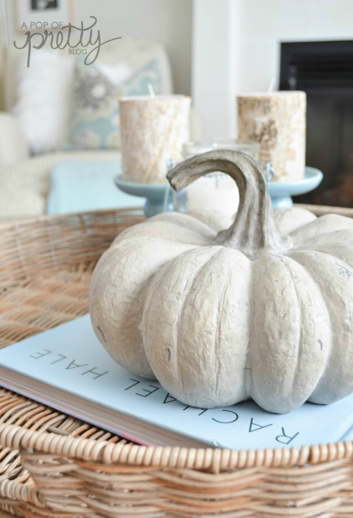 fall decor Canadian bloggers home tour