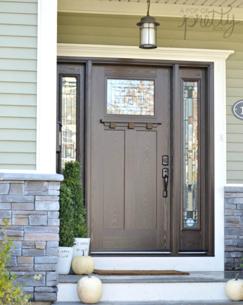 best front doors Masonite Craftsman & Best Front Doors for Every Home Style (Masonite) - A Pop of Pretty ...