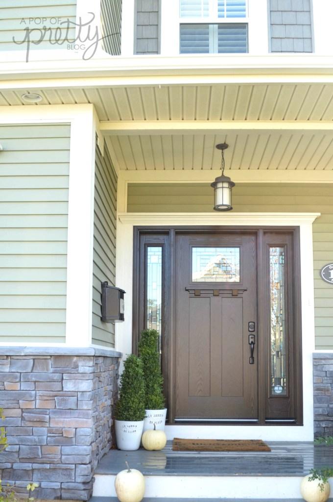 masonite-Craftsman front door