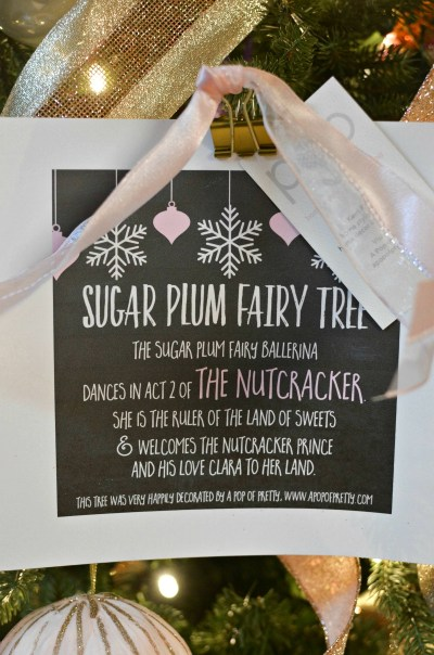 Sugar Plum Fairy tree