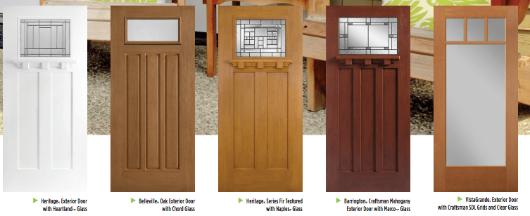 best front doors Masonite artisan & Best Front Doors for Every Home Style (Masonite) - A Pop of Pretty ...