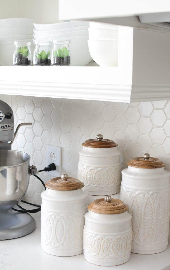 kitchen renovation open shelves