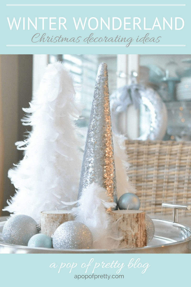 winter wonderland 2 christmas decorating ideas pinterest - Winter Wonderland Christmas Decorating Ideas