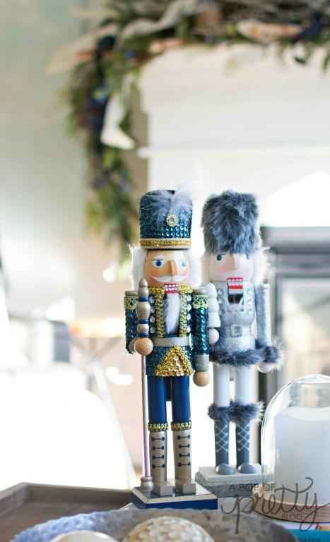Navy Blue Christmas Decorating Ideas