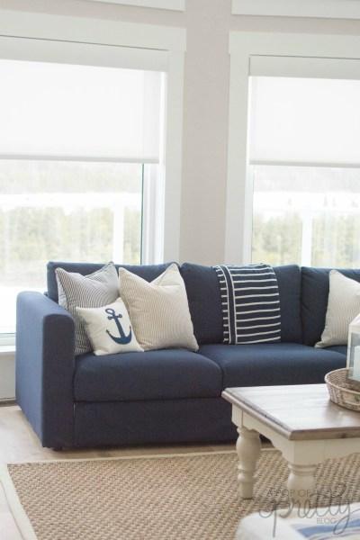 IKEA Vimle sofa review Orrsta black-blue
