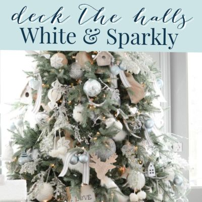 White Christmas Theme Decor Tips + Ideas (Home Tour)