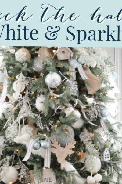 White Christmas Theme Decor Ideas