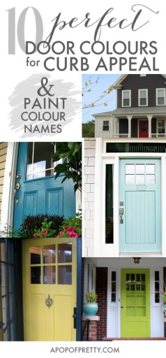 paint colours for front door