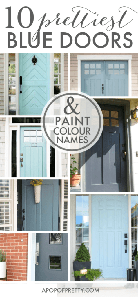 Blue door colour ideas