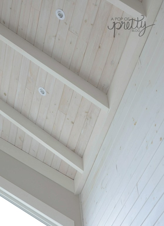 white wash shiplap how to