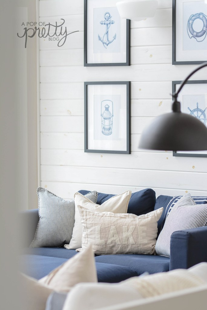 how to white wash shiplap walls