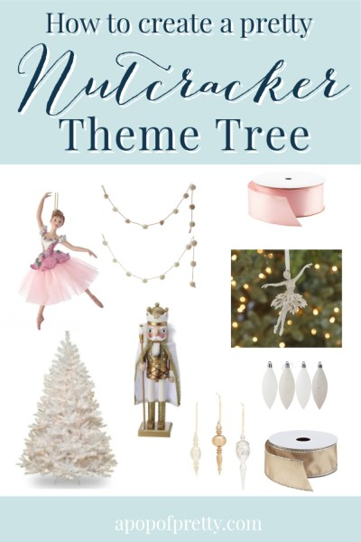 Nutcracker theme tree ideas