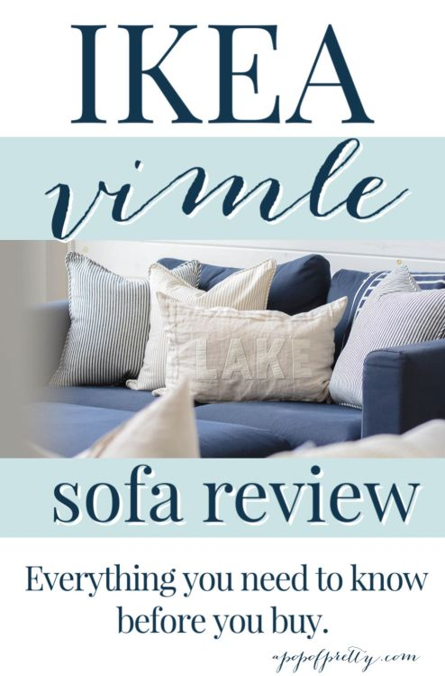 IKEA Vimle Sofa Review - Everything you need to know.