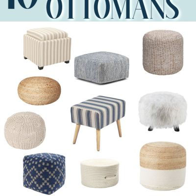 10 Cute Ottomans (Under $100)