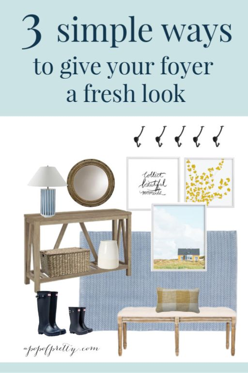 Foyer decor ideas mood boards