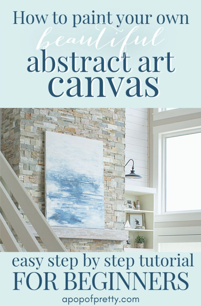 how to paint abstract art tutorial