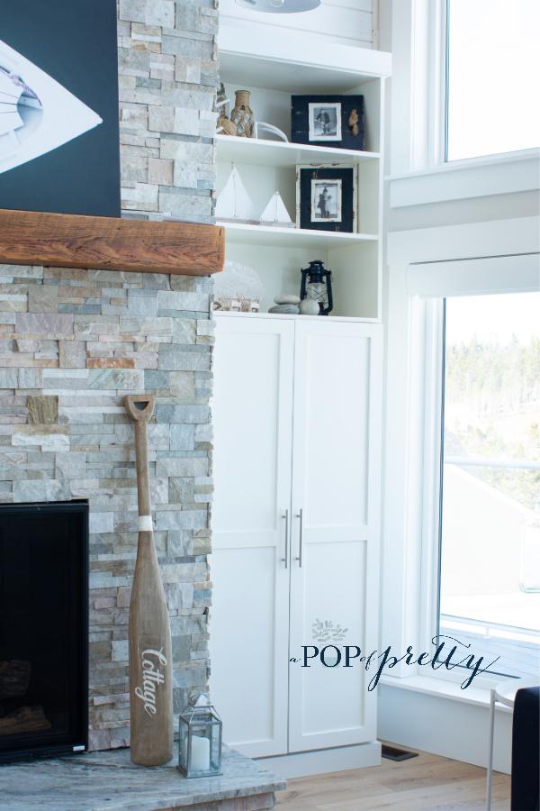 Coastal shelf styling