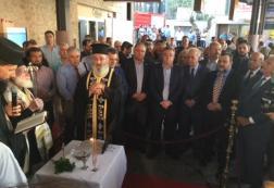 Εγκαινιάστηκε ο νέος σύγχρονος επιβατικός σταθμός του ΚΤΕΛ Ηρακλείου – Λασιθίου