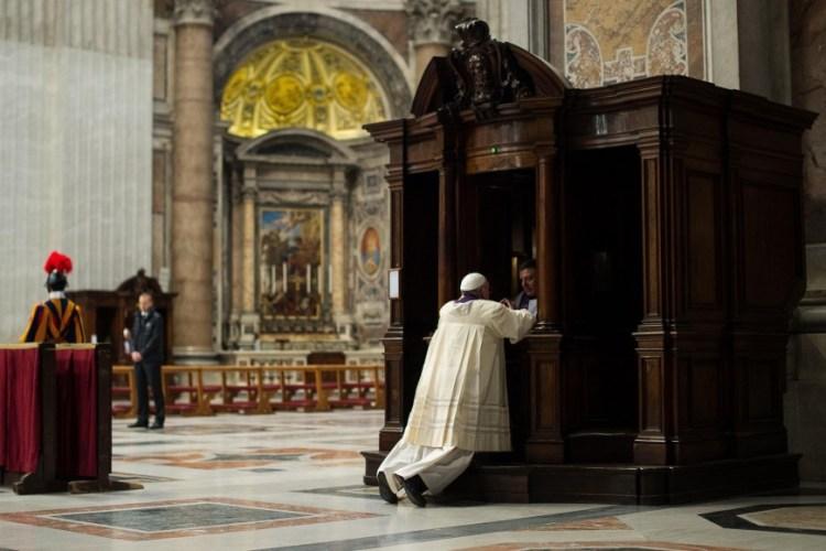 Biecht Paus Franciscus