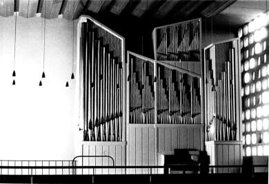 Die Beckerath-Orgel, © Orgelbau Beckerath