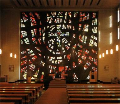Apostelkirche von Innen in den 1980ern, © Heinrich Brandt