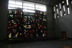 Zerlegung des Glasfenstern© Beate Sachs