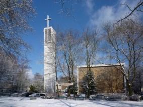 Apostelkirche im Schnee, 30.01.2010, © Beate Sachs