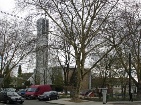 Apostelkirche, Foto am 04.04.2010, © Birgit Schröter