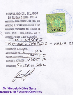 Agreement Attestation for Ecuador in Navi Mumbai, Agreement Legalization for Ecuador , Birth Certificate Attestation for Ecuador in Navi Mumbai, Birth Certificate legalization for Ecuador in Navi Mumbai, Board of Resolution Attestation for Ecuador in Navi Mumbai, certificate Attestation agent for Ecuador in Navi Mumbai, Certificate of Origin Attestation for Ecuador in Navi Mumbai, Certificate of Origin Legalization for Ecuador in Navi Mumbai, Commercial Document Attestation for Ecuador in Navi Mumbai, Commercial Document Legalization for Ecuador in Navi Mumbai, Degree certificate Attestation for Ecuador in Navi Mumbai, Degree Certificate legalization for Ecuador in Navi Mumbai, Birth certificate Attestation for Ecuador , Diploma Certificate Attestation for Ecuador in Navi Mumbai, Engineering Certificate Attestation for Ecuador , Experience Certificate Attestation for Ecuador in Navi Mumbai, Export documents Attestation for Ecuador in Navi Mumbai, Export documents Legalization for Ecuador in Navi Mumbai, Free Sale Certificate Attestation for Ecuador in Navi Mumbai, GMP Certificate Attestation for Ecuador in Navi Mumbai, HSC Certificate Attestation for Ecuador in Navi Mumbai, Invoice Attestation for Ecuador in Navi Mumbai, Invoice Legalization for Ecuador in Navi Mumbai, marriage certificate Attestation for Ecuador , Marriage Certificate Attestation for Ecuador in Navi Mumbai, Navi Mumbai issued Marriage Certificate legalization for Ecuador , Medical Certificate Attestation for Ecuador , NOC Affidavit Attestation for Ecuador in Navi Mumbai, Packing List Attestation for Ecuador in Navi Mumbai, Packing List Legalization for Ecuador in Navi Mumbai, PCC Attestation for Ecuador in Navi Mumbai, POA Attestation for Ecuador in Navi Mumbai, Police Clearance Certificate Attestation for Ecuador in Navi Mumbai, Power of Attorney Attestation for Ecuador in Navi Mumbai, Registration Certificate Attestation for Ecuador in Navi Mumbai, SSC certificate Attestation for Ecuador in Navi Mumbai, Transfer Certificate Attestation for Ecuador