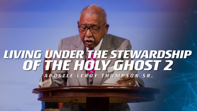 04-02-19 TUE PM Living Under the Stewardship of the Holy Ghost 2