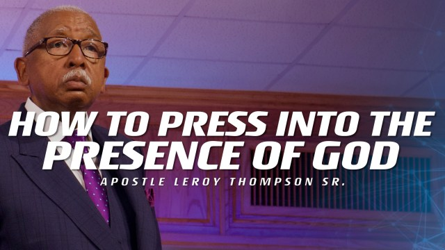 04-09-19 TUE PM PRESENCE OF GOD